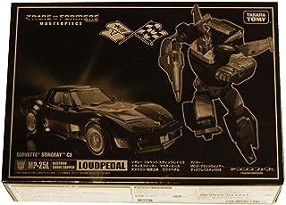 Transformers Masterpiece Takara Tomy MP-25L MP25L Black Tracks Loud Pedal Tokyo toyshow