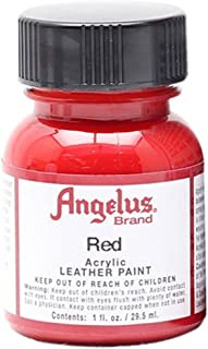 Angelus Acrylic Paints 1oz Color Red