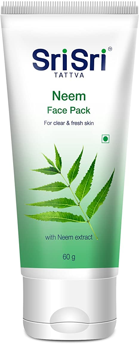 作業ルアーどうやらSri Sri Tattva Neem Face Pack - 60 g