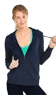 Women's Thin Cotton Zip Up Hoodie Jacket