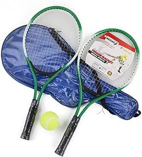 Constance Alsop(p) Cordaje 2pcs Niños Raqueta De Tenis For El Entrenamiento De Tenis Raquete Fibra De Carbono Superior De Acero Material De Deportes Al Aire Libre