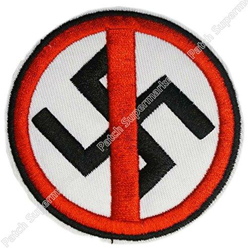 ASTONISH Anti RAZZISTA Antifascista Guerra Punk Skins Dead Kennedys Rock Band Bordado...