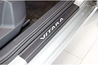 Gnnlor Auto Soglia battitacco Soglia Porta Auto Pedali per Smart,///Adesivo per/davanzale della portiera/dellauto 4 Pezzi
