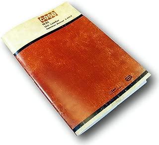 Case 1830 Skid Steer Uni-Loader Owner Operators Manual New Print J I Maintenance