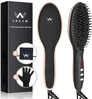 Best hair straightener brush hqt-906 Reviews