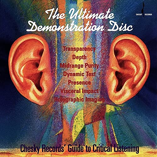 Ultimate Demonstration Disc: Chesky Records' Guide to Critical Listening