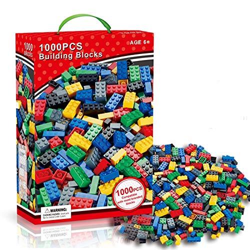 pequeño y compacto 1000 bloques de construcción DY_Jin, 10 colores pastel,…