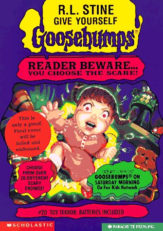 Toy Terror: Batteries Included (Give Yourself Goosebumps)