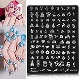 Bluelover Nail Art Immagine Stampa Piastra Polacco Stamping Template Diy Suggerimenti Desi...