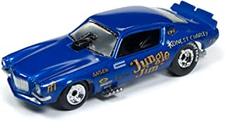 1970 Chevrolet Camaro Funny Car Jungle Jim Blue Limited Edition to 3,200 Pieces Worldwide 1/64 Diecast Model Car by Racing Champions RCSP002