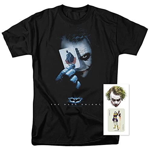 e952118f Popfunk The Dark Knight Heath Ledger Joker with Card T Shirts & Stickers
