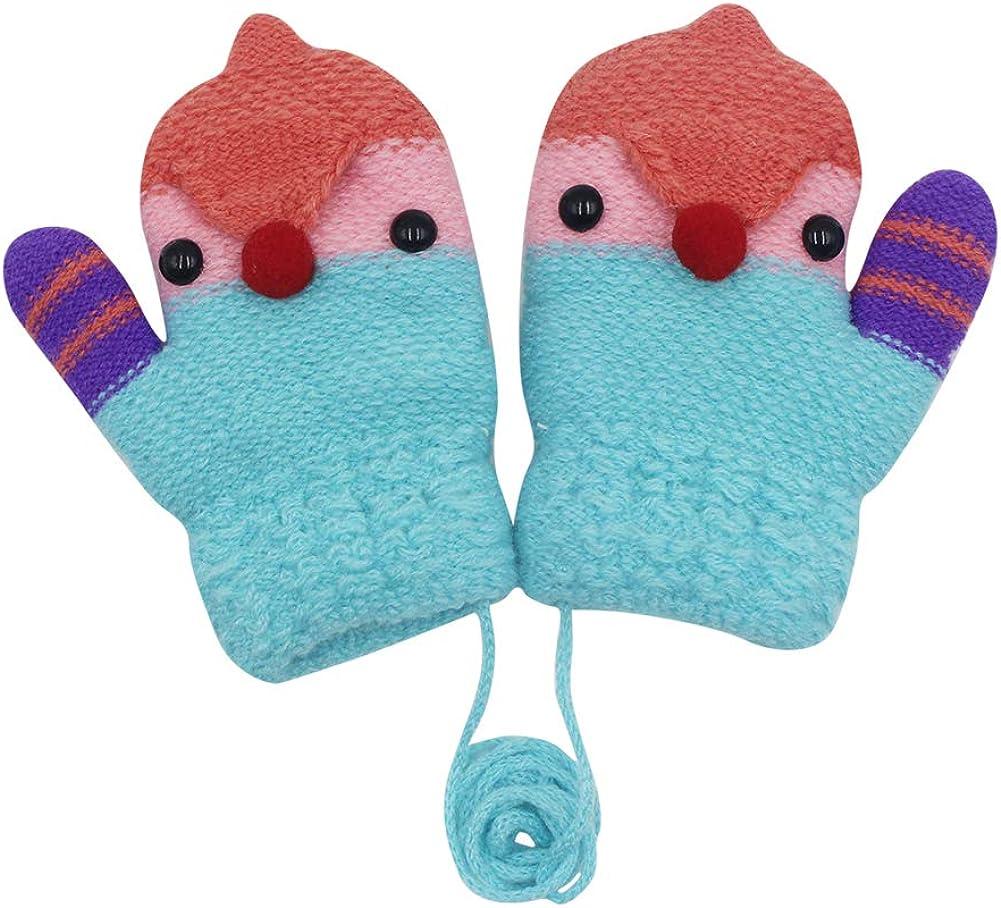 RARITY-US Max 41% OFF Unisex Warm Soft Winter Knit Kids for Gloves Boys Dedication Girl