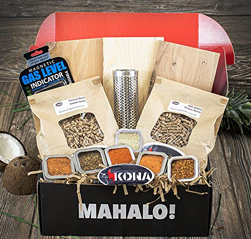 Smoke Spice Grillers Max 65% OFF Gift Box - Planks Pellets Tube Challenge the lowest price of Japan Smoker