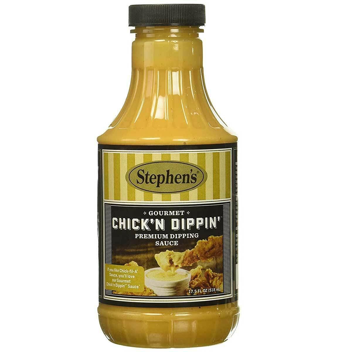 Stephen's Dipping Excellent Sauce 17.5 OZ Superlatite 6 - Chicken Pack