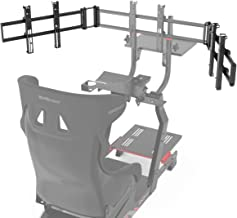 $149 » Extreme Sim Racing Triple Screen Tv Stand Add-on Upgrade for Cockpit P1 3.0 / Virtual Experience 3.0
