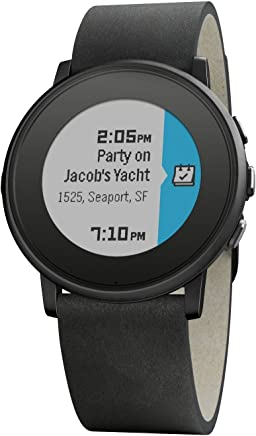 Pebble Time Round 20mm Smartwatch for Apple/Android...