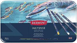 Derwent Inktense Permanent Watercolour Pencils Tin (Set of 72)