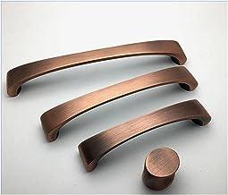 """MeiZi 3.75""""5 '' 6.3 '' Antieke koper bronzen lade trekken knoppen zwarte dressoir handvat geborsteld nikkel keukenkast deu..."""