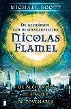 De geheimen van de onsterfelijke Nicolas Flamel 1: De alchemist, De magiër en De tovenares samen in 1 band