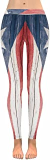 puerto rican flag leggings