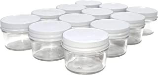 North Mountain Supply 4 Ounce Glass Regular Mouth Mason Canning Jars (White Metal Lids, 1)