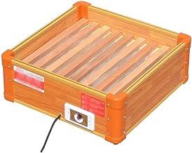 LBSX Calentador, de Madera Maciza de Inicio eléctrico de Escritorio del brasero a la Parrilla Arma de Fuego de refrigeración y calefacción