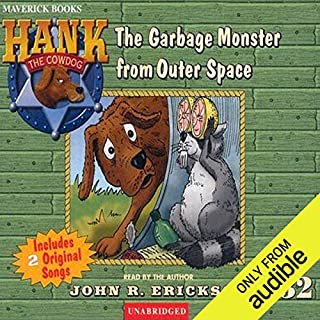 The Case of the Garbage Monster from Outer Space audiobook cover art