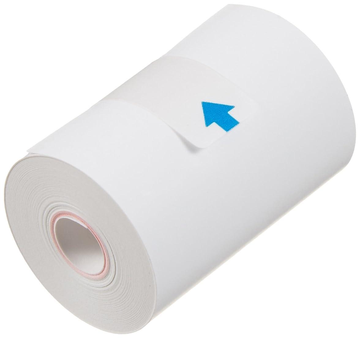 輪郭パワーセル硬化するオムロン 血圧計用 プリンターロール紙(感熱紙) (5巻入) HEM-PAPER-759P