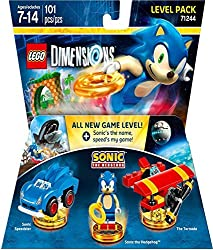 Xbox One video games Sonic the Hedgehog level pack for LEGO Dimensions.
