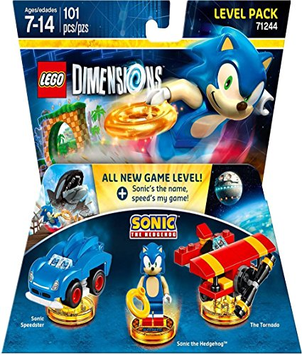 Sonic the Hedgehog Level Pack - Lego...