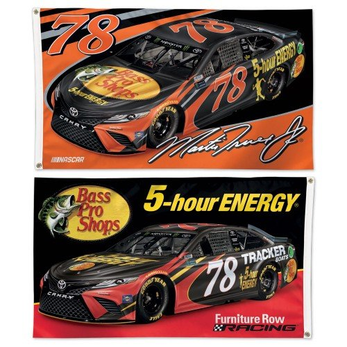 NASCAR Driver 3x5 2-Sided Flag with 2018 Graphics (Martin Truex Jr)