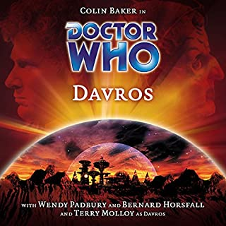Doctor Who - Davros audiobook cover art