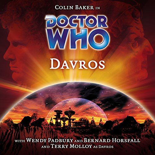 Doctor Who - Davros cover art