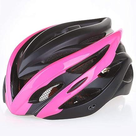Wxhelmet Casco para Bicicleta Casco Bicicleta con Visera Ajustable Deporte Ligera para Montar En Ultraligero Moldeado Integralmente