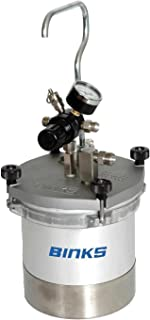 Binks - 80-600 - Aluminum Pressure Cup, Clamp Type Lid