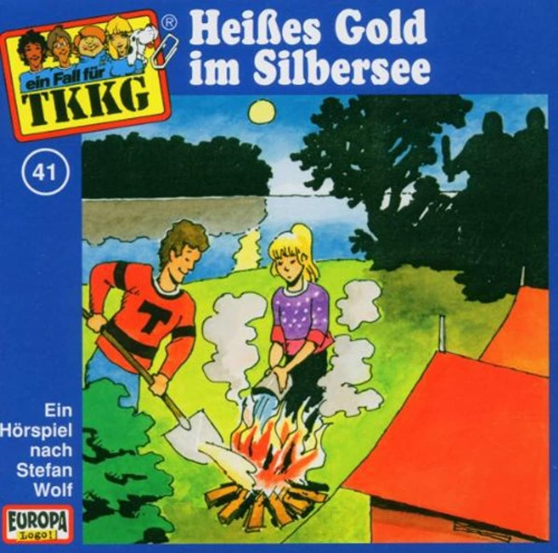 Heisses Gold Im Silbersee