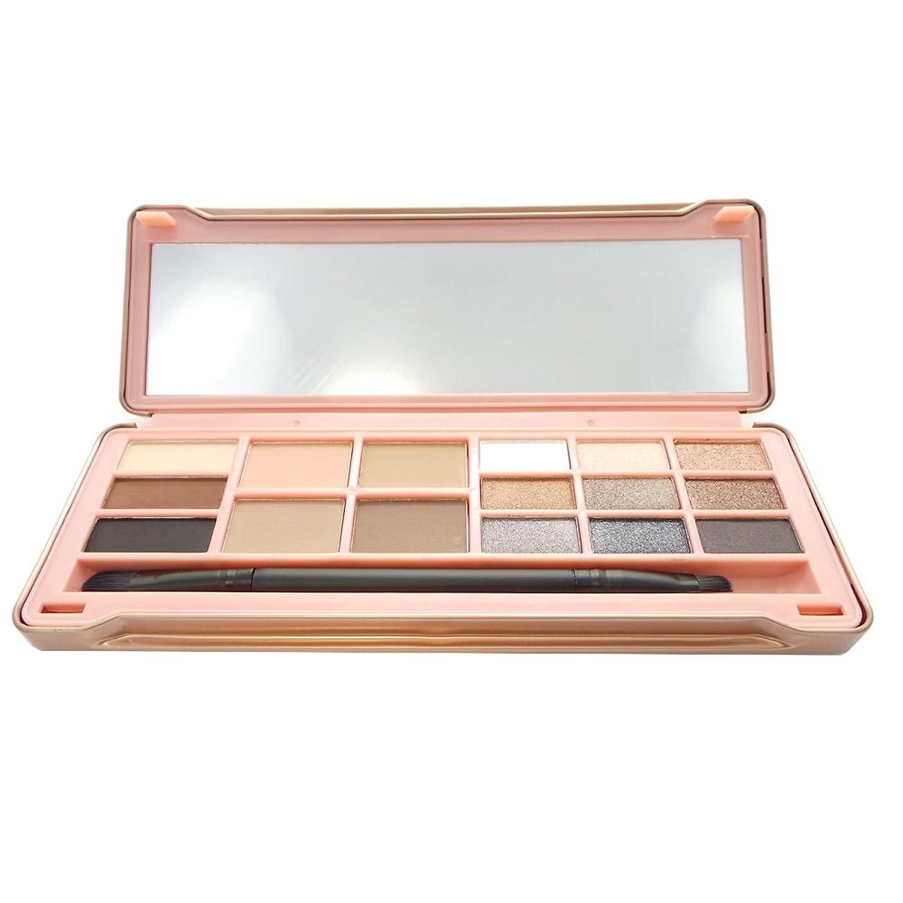 気がついてディベート屈辱する(6 Pack) OKALAN 16 Shade Natural Eyeshadow Palette - A (並行輸入品)