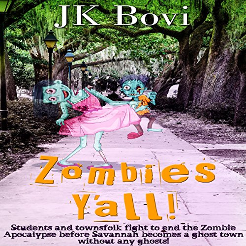 Zombie's Y'all audiobook cover art