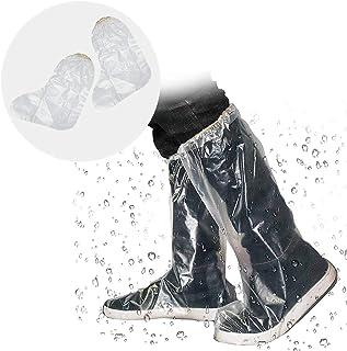 シューズカバー 使い捨て 靴カバー くつカバー ブーツカバー 完全防水 (防水-20枚)