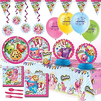 Shopkins Deluxe Girls Birthday Complete Party | Shopkin.Toys - Image 1