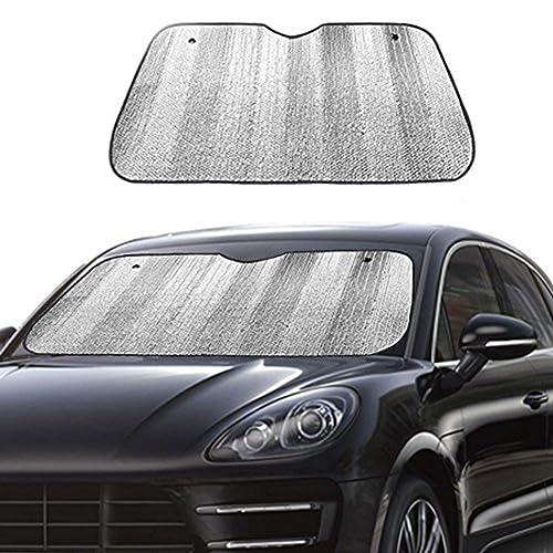 Windshield Sun Shade-Windshield Sunshade For Car Foldable Front Window Sun Shade Visor Shield Cover Uv Ray Reflector Keeps Vehicle Cool-One Direction
