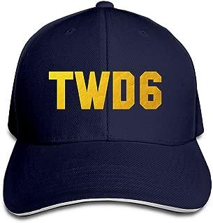YCTBHATS Gold Daryl TWD6 TV Show Adjustable Baseball Caps Unisex Sandwich Hats
