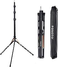 FOSOTO 75in Fold Video Tripod Light Stand Super Lightweight Compact for Ring Light, Speedlight, Flash, Umbrella, Softbox, ...