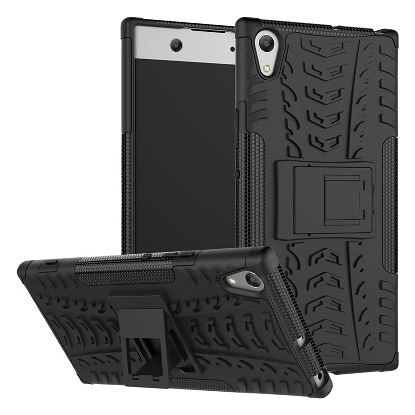 Sony Xperia XA1 Ultra case,Yiakeng Shock Absorbing Dual Layer Protective Fit Armor Case Cover Shell for Samsung Xperia XA1 Ultra Dual, Sony G3212, Sony G3226 6