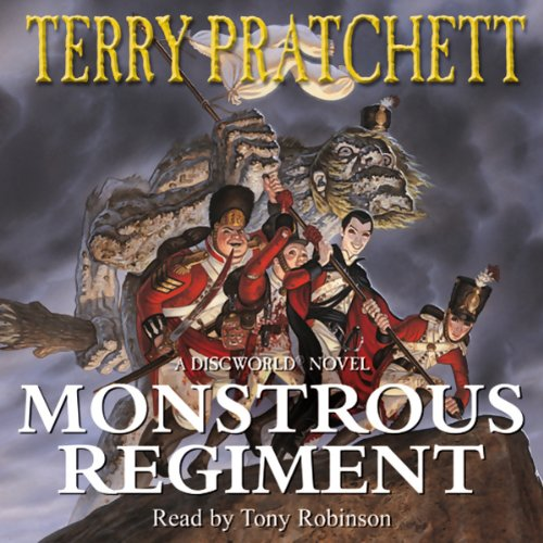 Monstrous Regiment audiobook cover art