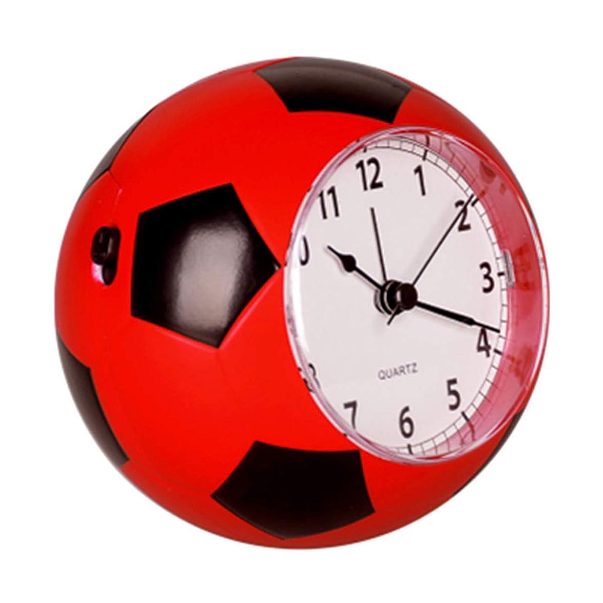 エーカー効果的自体Infabe スポーツ ボール デザイン 目覚まし 時計 アナログ 静音 カラフル インテリア クロック (サッカー)