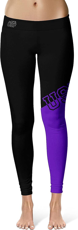 Vive La Fete Woman's Black Leggings Logo and w Hip Diagonal Superlatite Desi Daily bargain sale