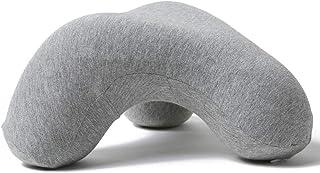 昼寝枕 低反発ネックピロー オフィス仮寝 携帯枕 うつ伏せ 枕 デスク枕 ネックパッド 腕が痺れない 旅行まくら 自宅 子供 椅子 飛行機 車用