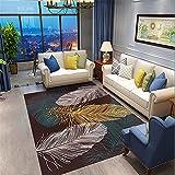 Multicolor Dormitorio Arte abstracto en color antideslizante...