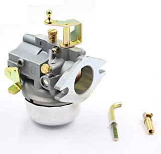 Aquiver Auto Parts New Carburetor for Kohler K321 K341 Cast Iron 14HP 16HP Engine John Deere Tractor 316 Club Cadet 1600 1650 Replacement with Choke Shaft